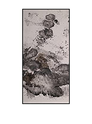 Concept Luxury Wandbild Abstract weiß/schwarz/grau