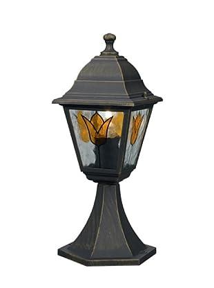 Massive Bodenlampe Koblenz Pedestal brush 1X60W 230V