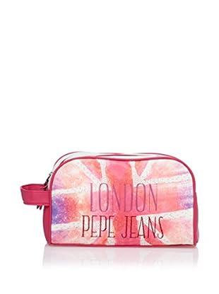 Pepe Jeans Neceser Adapt Rosa / Blanco
