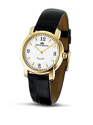 Philip Watch Quarzuhr Couture schwarz 32  mm