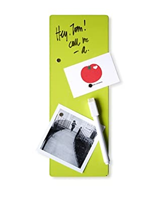 """Three by Three Set of 4 Dry Erase 4"""" x 11"""" Magnet Boards (Spring Green)"""