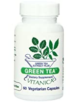 Vitanica Green Tea Capsules, 60-Count