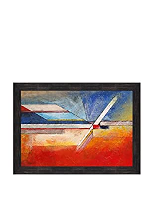 Clive Watts Edge Of Abstraction No 11 Framed Print On Canvas, Multi, 28