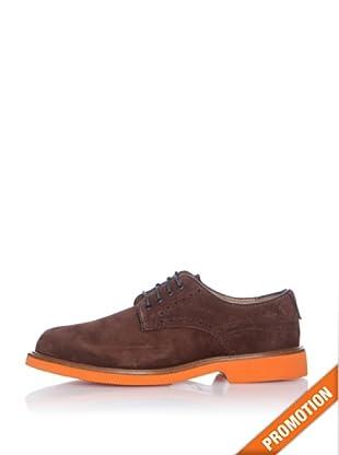 Dockers Zapatos Suela de Color (Marrón)