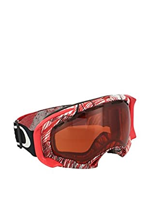 OAKLEY Occhiali da Neve Splice Rosso/Bianco