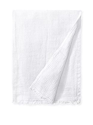 Mélange Home Waffle Weave Pre-Washed Throw, White