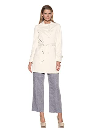Loro Piana Women's Bryce Raincoat (Nougat)