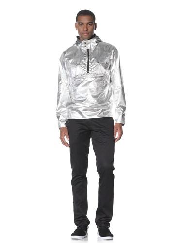 Adidas SLVR Men's Breaker Jacket (Silver)