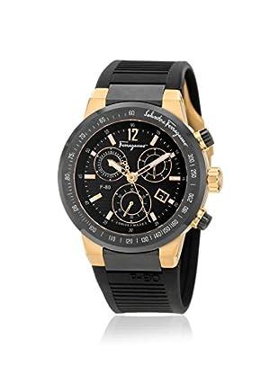 Salvatore Ferragamo Men's F55LCQ75909 S113 F-80 Chronograph Rose/Black Rubber Watch