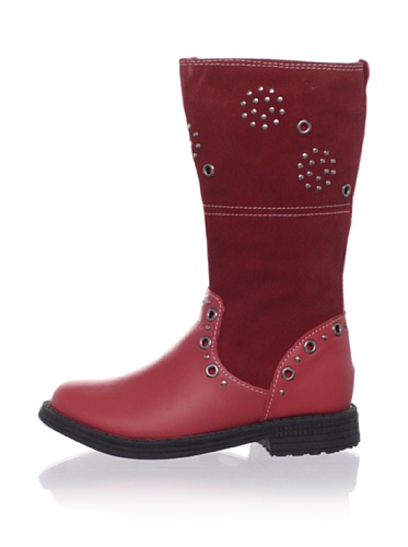 umi Kid's Chaarm Tall Boot (Toddler/Little Kid) (Cherry)