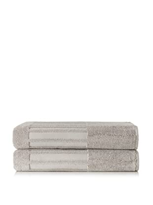 Garnier-Thiebaut Set of 2 Bath Sheets (Galet)