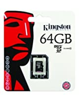 Kingston Micro SDXC 64GB Class 10 UHS-I memory card