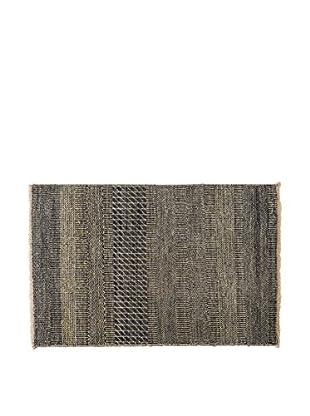 RugSense Teppich Grass grau/blau 108 x 69 cm