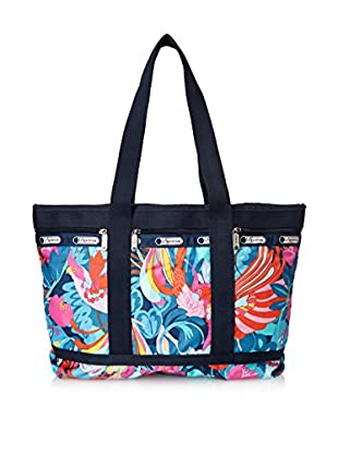 LeSportsac Women's Medium Travel Tote, Boca Chica Bright