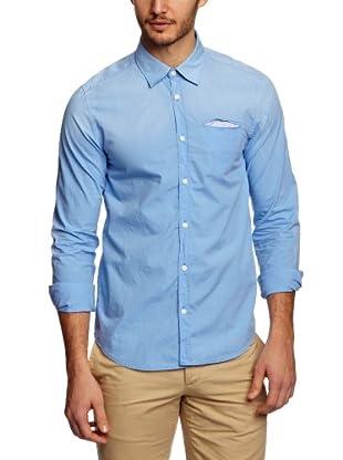 Scotch & Soda Camisa Steven (Azul Claro)