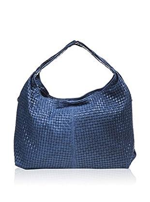 Mila Blu Schultertasche  blau