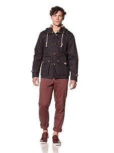 Under 2 Flags Men's Rain Coat (Navy)