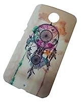 Dream Catcher Designer Print Snap-On Hard Slim Back Flexible Bumper Case Cover For Google Motorola Nexus 6
