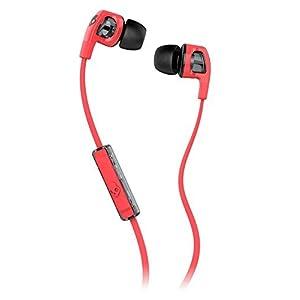 Skullcandy S2PGFY-318 Smokin' Buds 2 Stereo Headphone (Hot Red/Black)