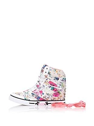 Skechers Botas Cha - Ching - Pure Joy (Blanco / Multicolor)