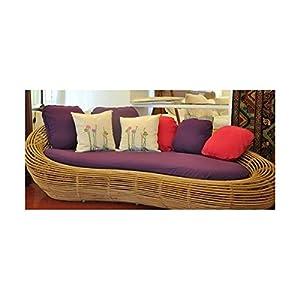 Mebelkart Bengal Basket - S03 Cane Sofa