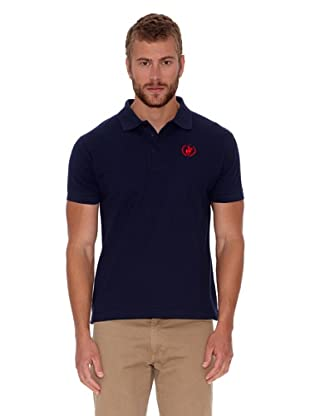 Polo Club Polo Custom Fit Logo Small (Azul Marino)