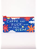 Blue Q Bags, Pencil Case, Carpe The F--k Out of This Diem