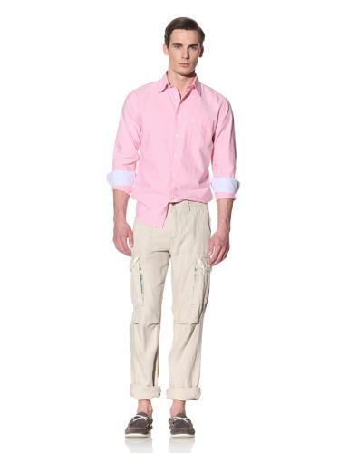 Tailor Vintage Men's Linen Cargo Pant (Natural)
