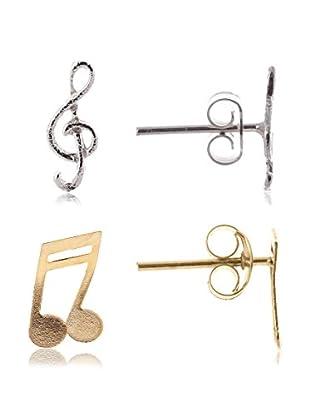 Córdoba Joyeros Pendientes Set Musical