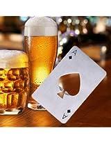 Poker Card Beer Bottle Opener Beer Soda Bottle Cap Opener