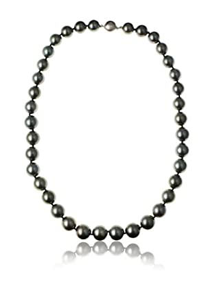 Radiance Pearl AAA Quality Black Tahitian South Sea Pearl Necklace