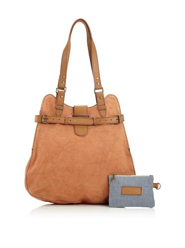 Jamie Young Handbags Women's Feed Satchel (Orange Vintage Canvas)
