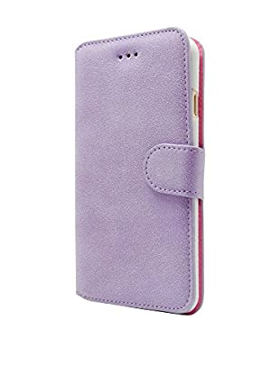 NUEBOO Hülle Velvet iPhone 7 Plus lila