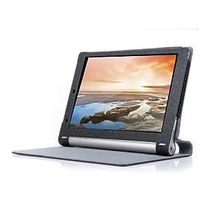 VSTN ? Lenovo YOGA TABLET 8 ultra-thin Bluetooth Keyboard Portfolio Case - DETACHABLE Bluetooth Keyboard Stand Case / Cover Buletooth Keyboard/For Lenovo Yoga tablet 10 & Yoga 10 HD+ AD