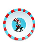 Bumkins Dr. Seuss Melamine Bowl, Blue Cat In The Hat By Bumkins