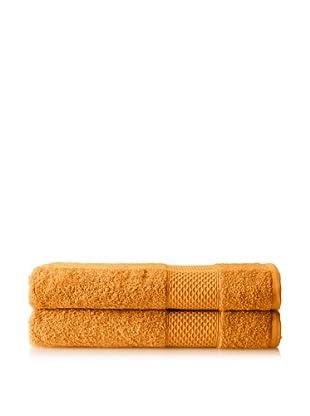 Anne de Solène Set of 2 Gourmandise Hand Towels, Crème De Mocca, 24