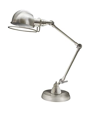 Clifton Desk Lamp, Satin Nickel