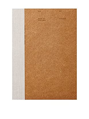 O-Check Design Graphics Large Brown Craft Notebook