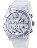 Timex Originals Sport Chronograph Silver Aluminium Unisex Watch T2N830