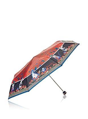 Braccialini Paraguas Rojo / Negro