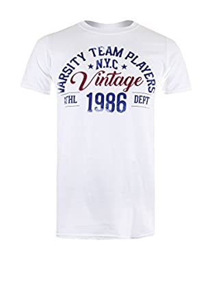 Varsity Team Players T-Shirt Vintage
