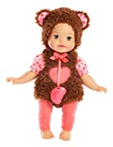Little Mommy Dress Up Cutie Bear Doll