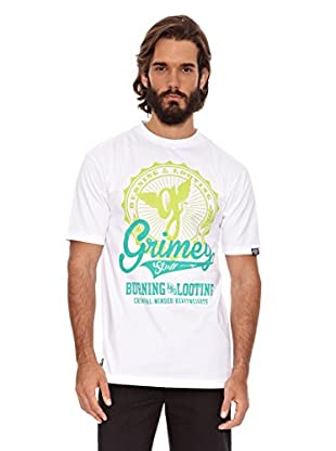 Grimey Wear Camiseta Stuff Tee (Blanco)