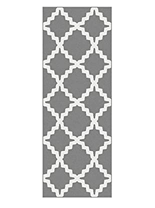 Universal Rugs Metro Contemporary Runner, Gray, 3' x 8'