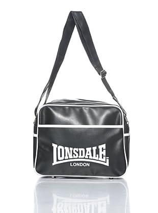 Lonsdale Bolsa Pete (Negro / Blanco)