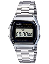 Casio Youth Digital Grey Dial Men's Watch - A158WA-1DF (D011)