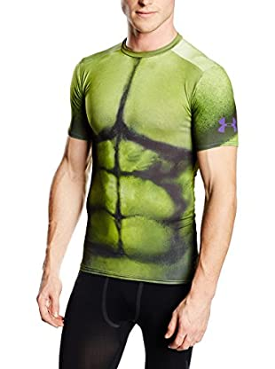 Under Armour T-Shirt Manica Corta Hulk Pr Fullsuit Comp Ss Compression