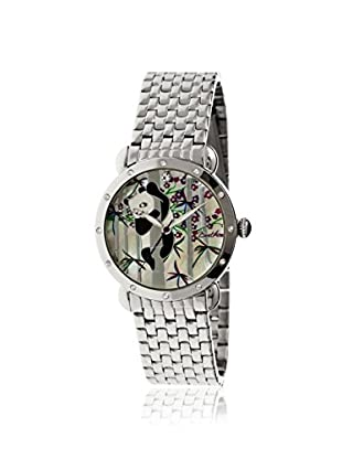 Bertha Women's BR4501 Lilly Silver/Multicolor Stainless Steel Watch