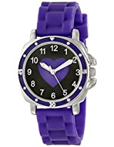"Frenzy Kids' FR302 ""Mood Dial Heart"" Watch"