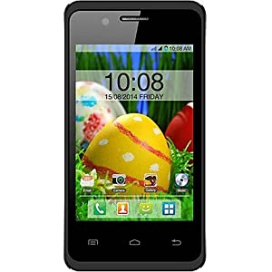 Intex Aqua T4 (Black) Mobile Phone